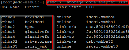 ESXi: How to find HBA/NIC driver/Firmware version | Virtual